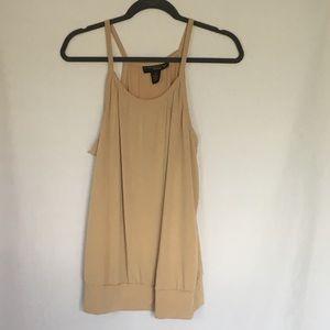 Tan 18/20 Dressy Tank Blouse